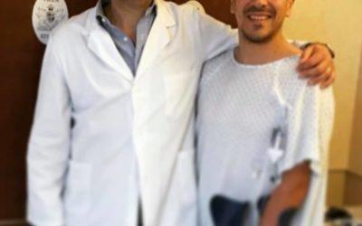 FERNANDO WILHELM DEL NAPOLI CALCIO A 5 OPERATO A VILLA STUART DAL DOTT. MACCAURO