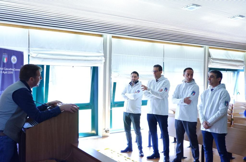 DOTT GIUSEPPE MACCAURO MEDICO UEFA